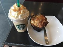 Frappuccino und Muffin