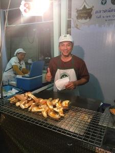Nachtischverkäufer Thailand