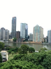Aussicht von der Story Bridge