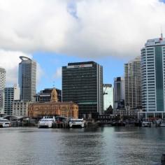 Auckland Hafen