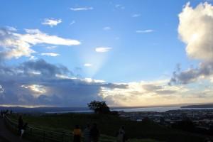 Blick vom Mt. Eden