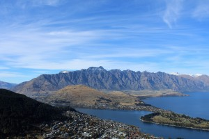 Blick vom Queenstown Hill
