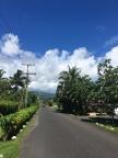 Straße in Apia