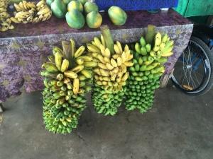 Bananen auf dem Markt