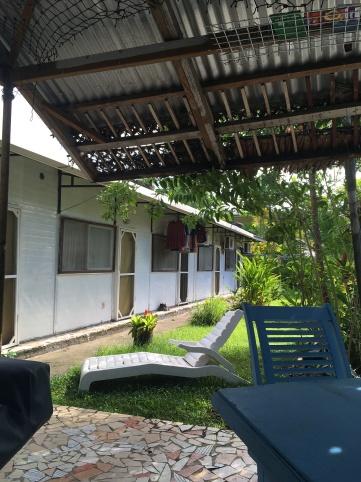 Meine Unterkunft in Apia