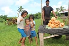 samoanische Kids