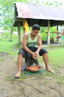 Kokosnuss raspeln
