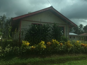 Ein Haus in Samoa