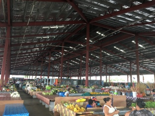 Markt auf Samoa
