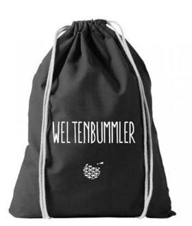 WELTENBUMMLER-Beutel