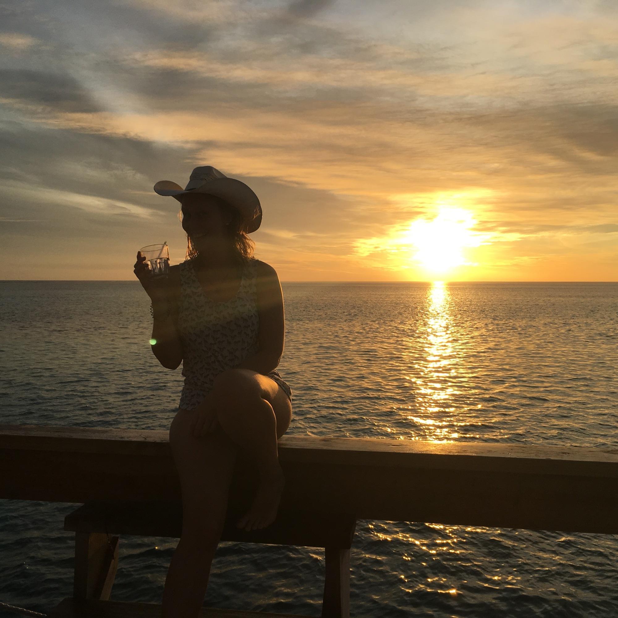 Sonnenuntergang in Fiji